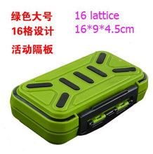 Load image into Gallery viewer, Multifunctional Waterproof Fishing Accessories Storage Box Tool Screws Accessories Box ABS Plastic Lattice Storage Box