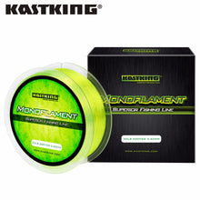 Load image into Gallery viewer, KastKing 550M Monofilament Fishing Line 4LB-30LB Japan Nylon Braided Line Crap Fishing Line Superior Mono Nylon Line Sea Lake