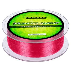 KastKing 550M Monofilament Fishing Line 4LB-30LB Japan Nylon Braided Line Crap Fishing Line Superior Mono Nylon Line Sea Lake