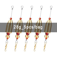 Load image into Gallery viewer, Booms Fishing CRR Brass Fishing Sinker Carolina Ready Rig