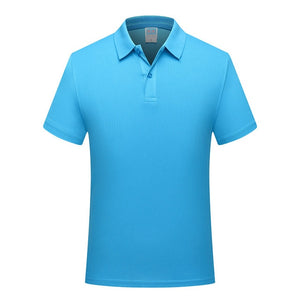 Adhemar training exercise golf short-sleeved polo shirt for sports quick-drying slim clothes outdoor tennis shirt for men/women
