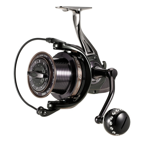 14+1BB Ball Bearings Fishing Reel 4.0:1 Spinning Fishing Reel Metal Spool Fishing Reel Left/Right Interchangeable Handle Fishing Reels