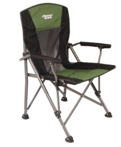Load-Bearing 300kg Outdoor Folding Lounge Chair Wild Camping Fishing