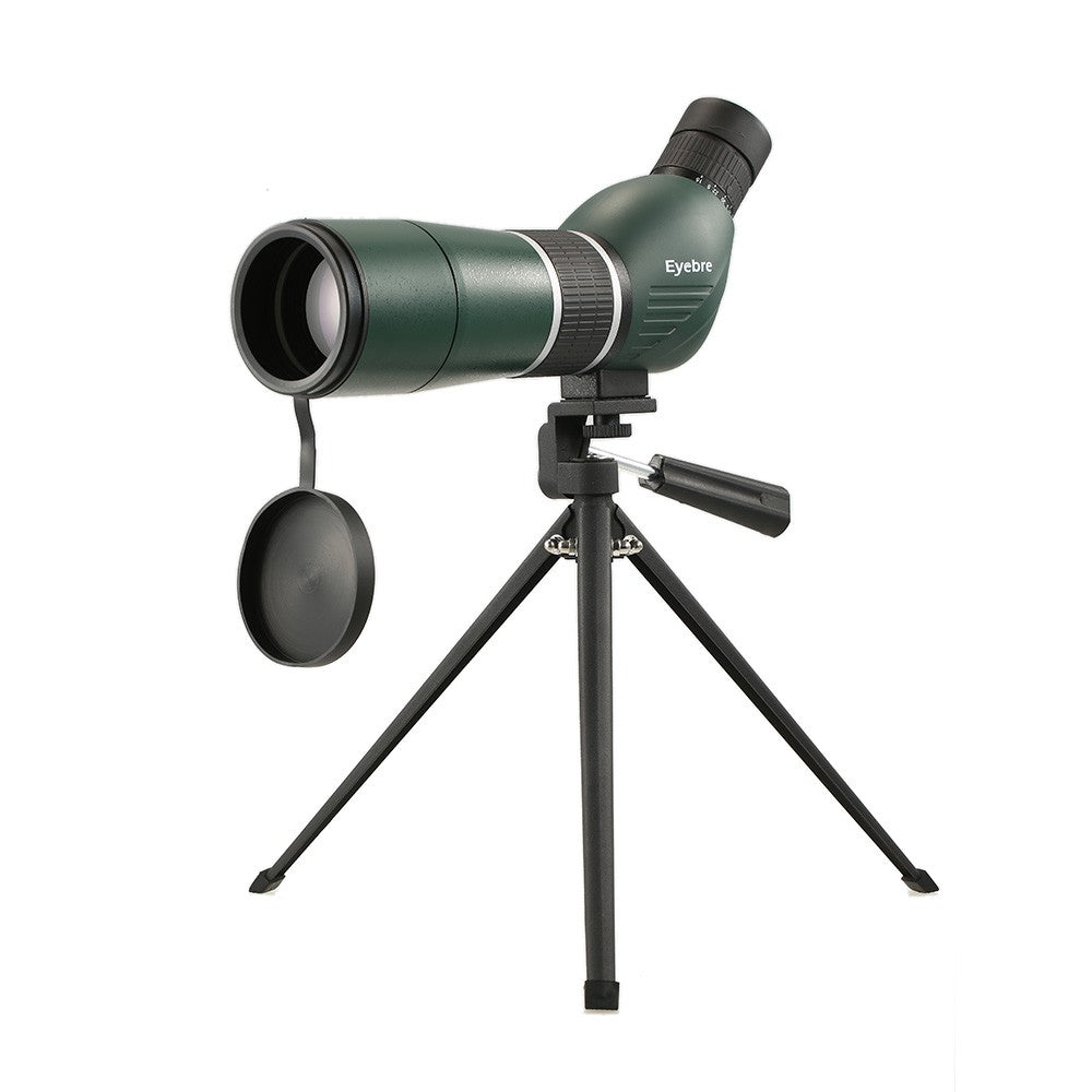 15-45x60 Straight / Angled Spotting Scope with Tripod Portable Travel Scope Monocular Telescope with Tripod Carry Case for Bird Watching Camping Backpacking