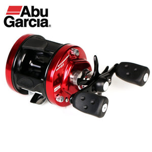 Abu Garcia  Aluminum CNC Machined Round Baitcast Fishing Reel Big Game Trolling Reel Sea Boat Jigging Reel