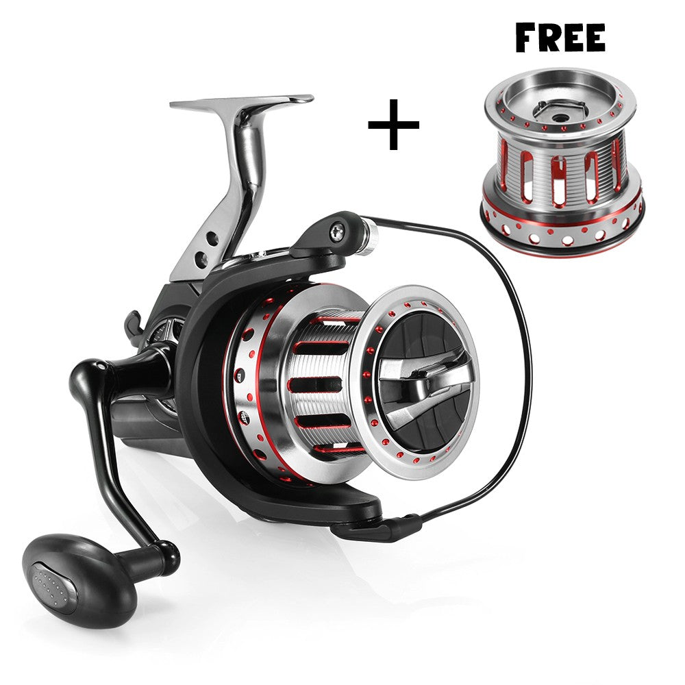 11+1BB Ball Bearings Spinning Fishing Reel 4.7:1 Left/Right Interchangable Collapsible Handle Fishing Reel Mental Spool Fishing Reel