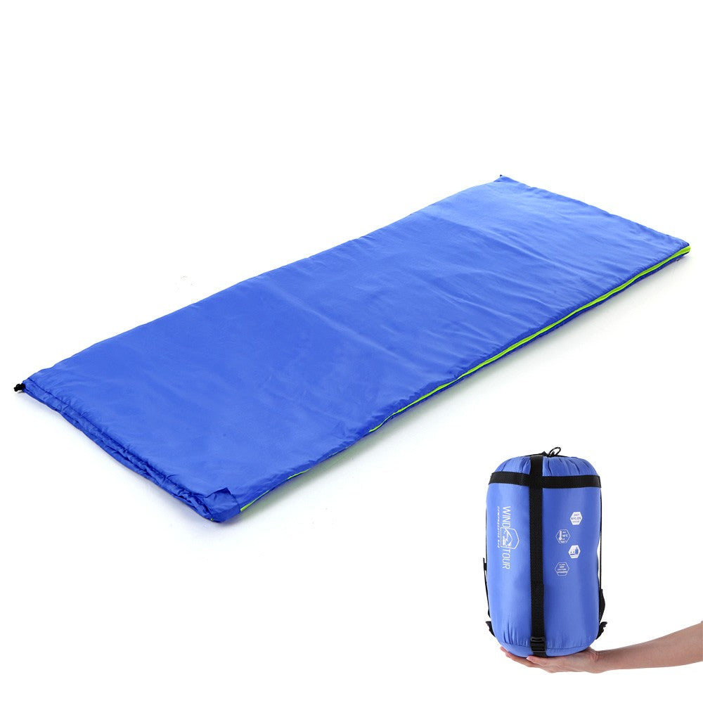 Envelope Warm Sleeping Bag Lightweight Portable Moisture Proof Sleeping Bag for Outdoor Camping Hiking Traveling and Indoor Working Sleeping