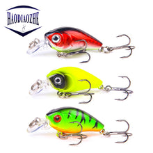 Load image into Gallery viewer, Mini Crankbait Fishing Lures 4.5cm 3.7g Topwater Isca Artificial Japan Hard Bait Minnow Swimbait Trout Bass Carp Fishing Tackle