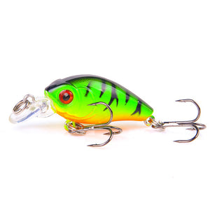 Mini Crankbait Fishing Lures 4.5cm 3.7g Topwater Isca Artificial Japan Hard Bait Minnow Swimbait Trout Bass Carp Fishing Tackle