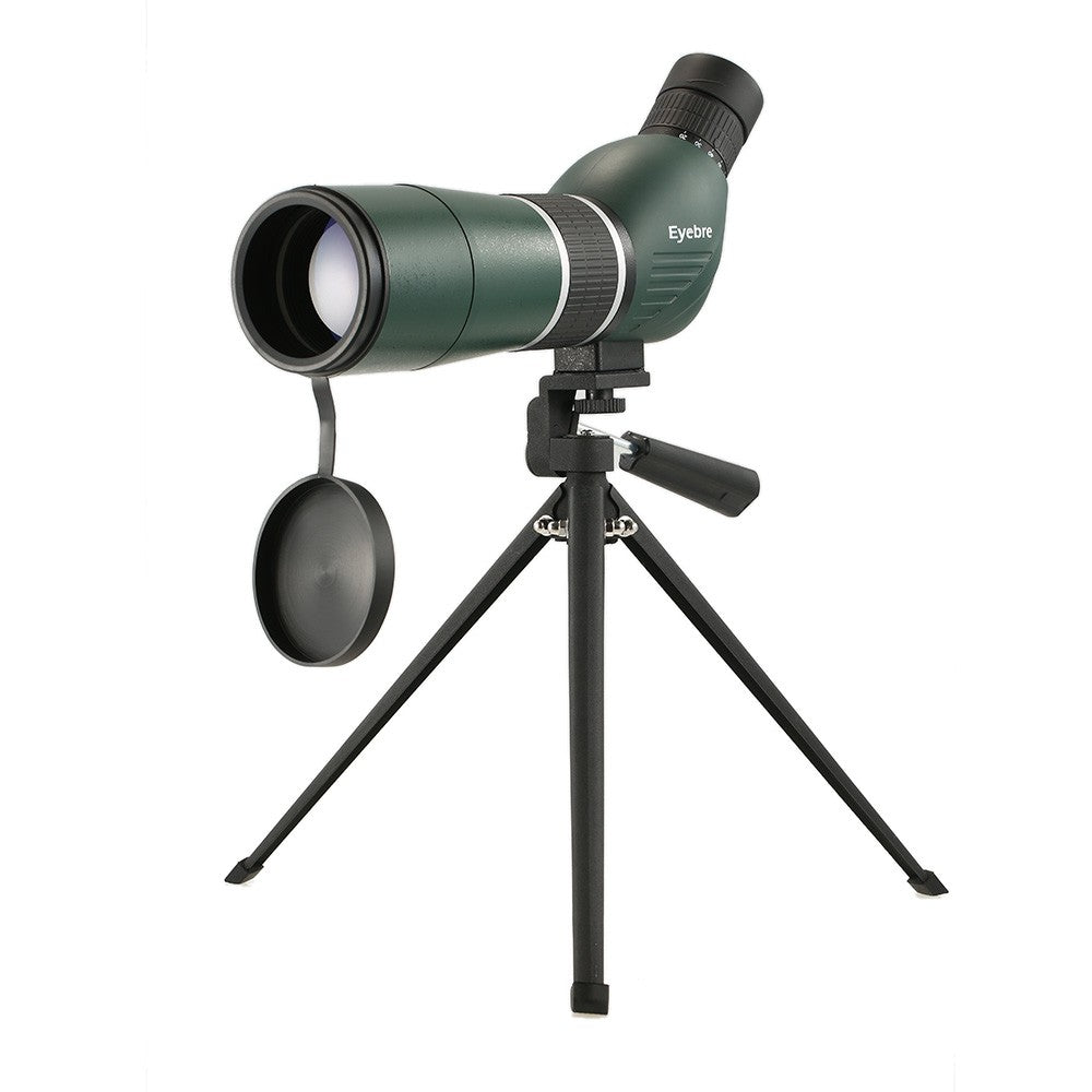 20-60x60 Straight / Angled Spotting Scope with Tripod Portable Travel Scope Monocular Telescope with Tripod Carry Case for Bird Watching Camping Backpacking