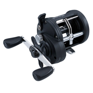 Shakespeare ATS Trolling Reels 20, 5.1:1 Gear Ratio, 2 Bearings, 15 lb Max Drag, Right Hand, Clam Package