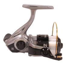 "Load image into Gallery viewer, Zebco / Quantum Spyn Spinning Reel 20, 5.3:1 Gear Ratio, 26"" Retrieve Rate, 3 Bearings, Right Hand, Boxed"