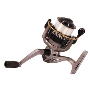 "Zebco / Quantum Spyn Spinning Reel 30, 5.3:1 Gear Ratio, 28"" Retrieve Rate, 3 Bearings, Right Hand, Boxed"