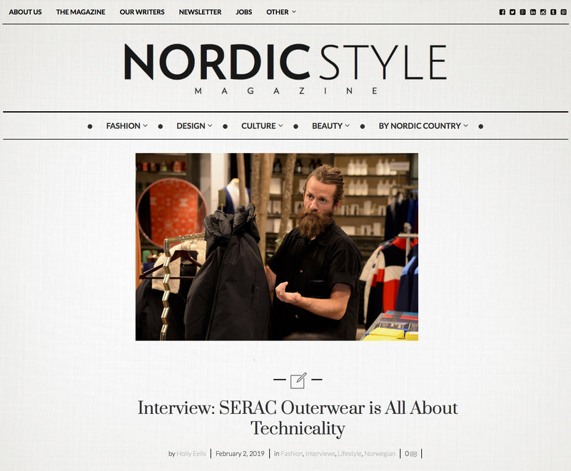 Founder interview in Nordic Style Magazine