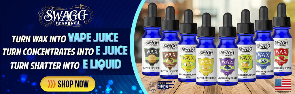 Wax and Shatter Liquidizer by Swagg Terpenes