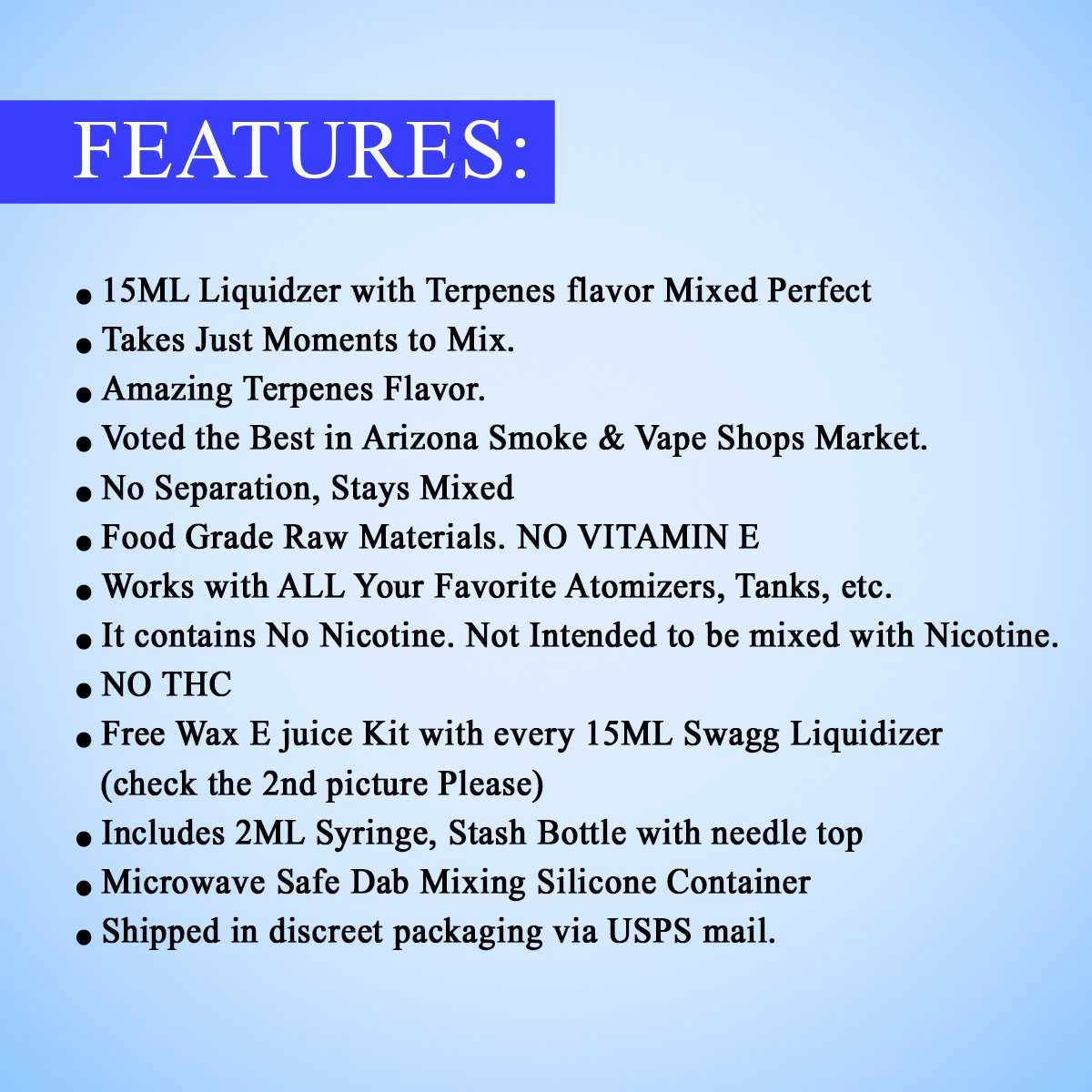 Bubblegum Wax and Shatter Liquidizer kit By Swagg Terpenes-SWAGG TERPENES