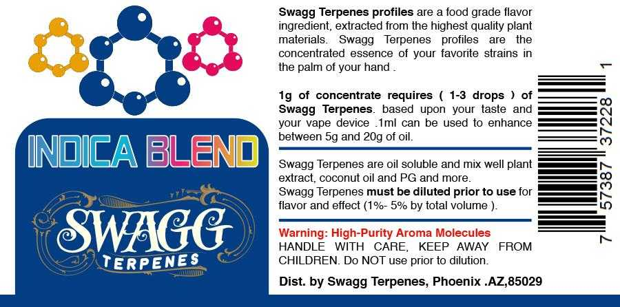 Indica Blend by Swagg Terpenes-SWAGG TERPENES