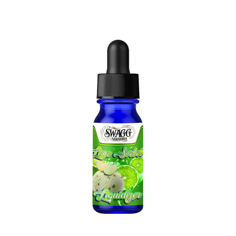 Lime Sorbet Wax and Shatter Liquidizer kit By Swagg Terpenes-SWAGG TERPENES