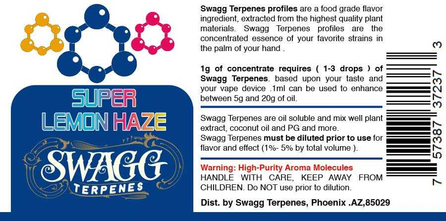 Super Lemon Haze by Swagg Terpenes-SWAGG TERPENES