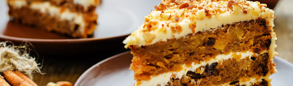 CBD oil Carrot Cake with icing