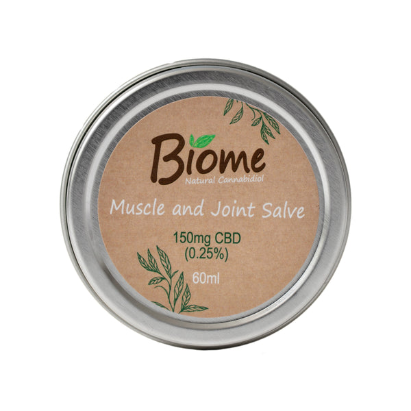 Biome CBD Salve Pot 0.25% 150mg 60ml | TheCBDFarmacy