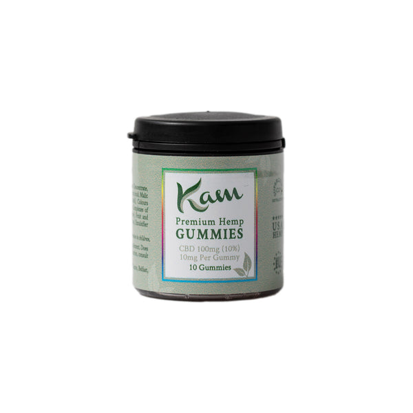 KAM CBD Edible Gummies 10mg 10pcs | TheCBDFarmacy