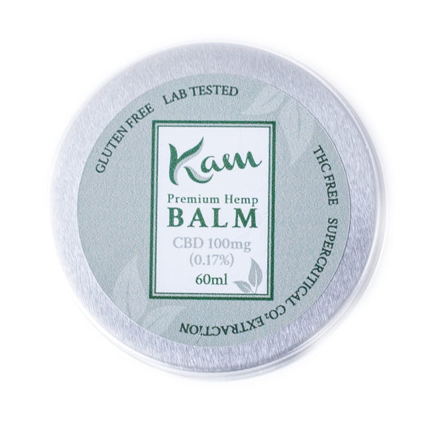 The CBD Farmacy Kam broad spectrum balm 100mg UK and Ireland front