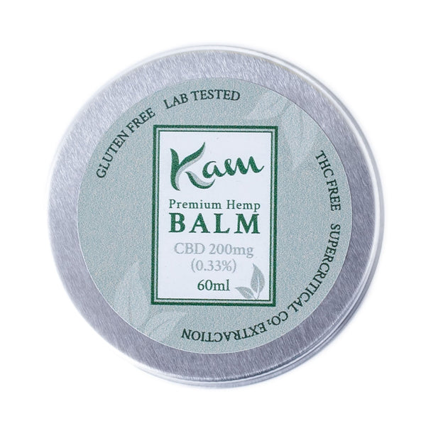 The CBD Farmacy Kam broad spectrum balm 200mg UK and Ireland front