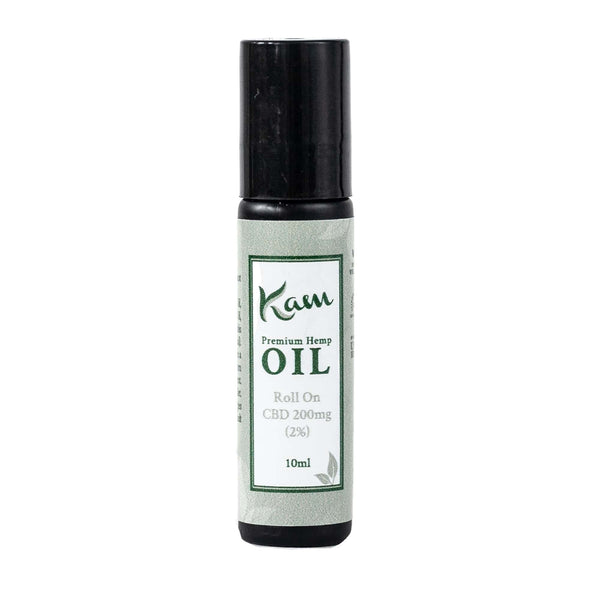 The CBD Farmacy Kam roll on oil 200mg topical UK and Northern Ireland front