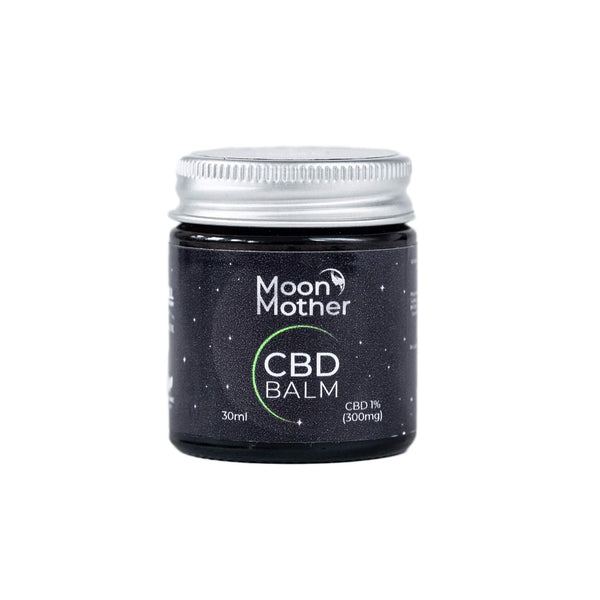 The CBD Farmacy Moon Mother Supercritical CO2 extracted beeswax balm 300mg UK and Ireland front