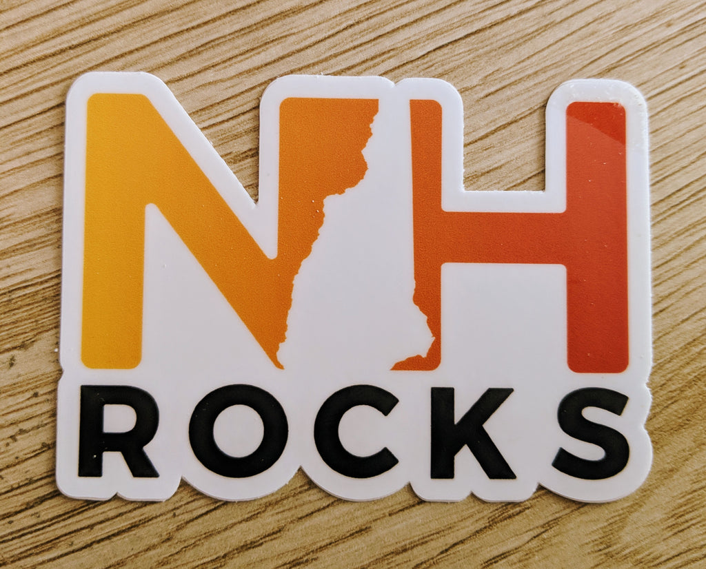 NH Rocks Sticker
