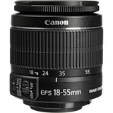 Canon EF-S 18-55mm f/3.5-5.6 IS II Lens White Box