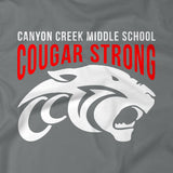 CCMS Cougar Strong Long Sleeve Shirt