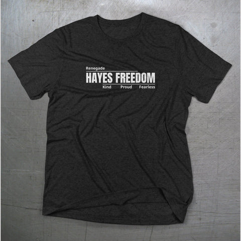 Hayes Freedom High School Unisex T-Shirt - Dukes Decals