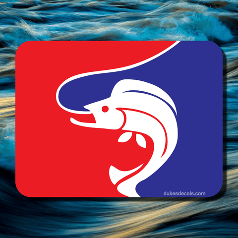 Major League Fishing Vinyl Decal - Dukes Decals