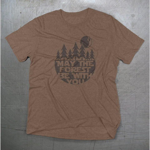 May The Forest Be With You Star Wars Unisex T-shirt - Dukes Decals
