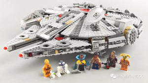 LJ99002 Star Wars Series--The Millennium Falcon(1351pcs)