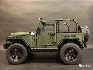 Mould King 13124 JEEP Wrangler