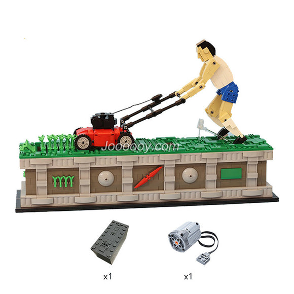 Creative classic weeder MOC 10820 with motor