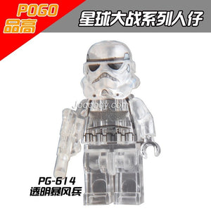 PG614 star wars minifigures Transparent death trooper
