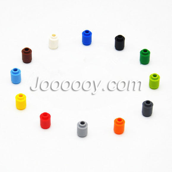 50 pcs 1*1 cylindrical lamp bead MOC bricks