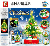 486PCS SEMBO 601097 Christmas tree music box