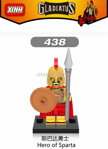XINH438 Hero of Sparts Minifigures