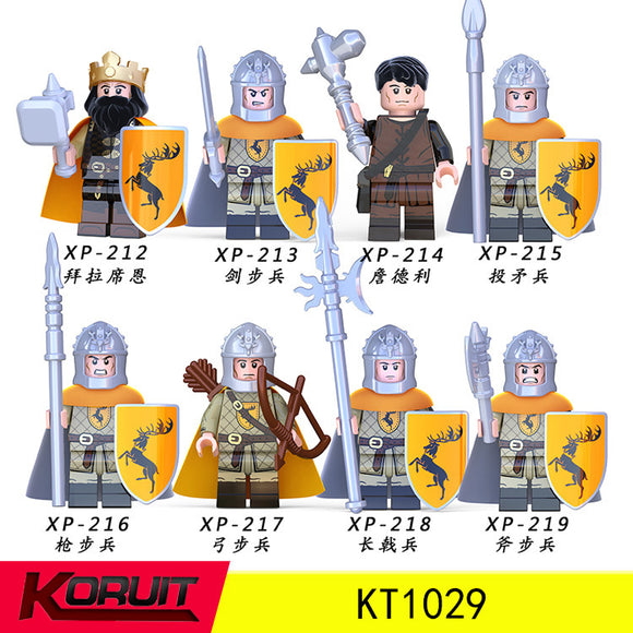 Medieval Soldiers Sword Infantry Jory Archers minifigures