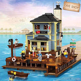 2200pcs PG12001 The Dive Shop