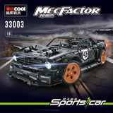 3145pcs Decool 33003 Ford Mustang Hoonicorn V2