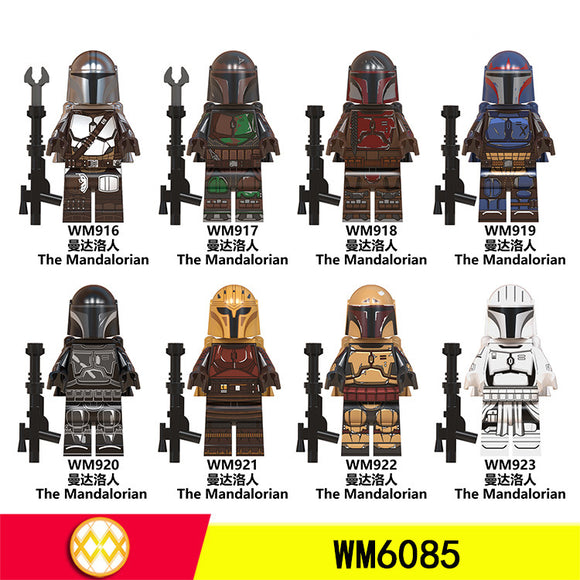 Mandalorian  star wars minifigures