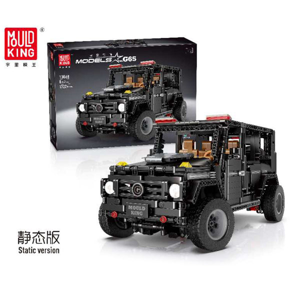 Mould King 13068/13069 Technic Series Mercedez Benz G500