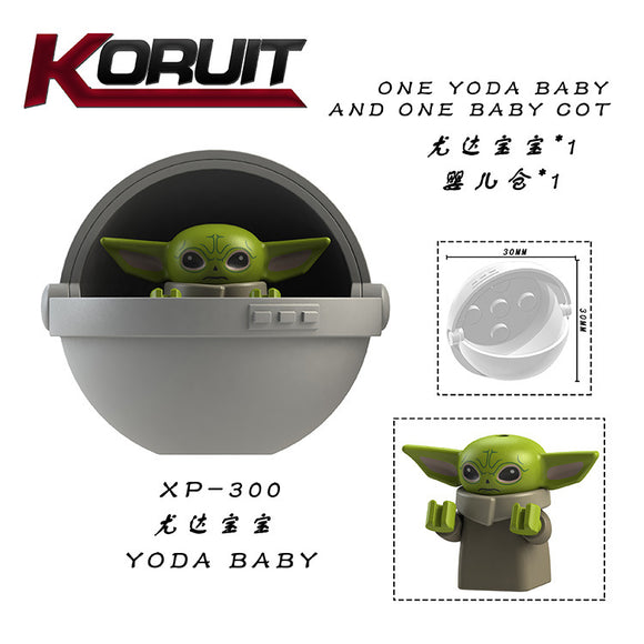 Yoda baby with flying barn star wars minifigures