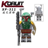 KT1041 Bounty Hunter minifigures